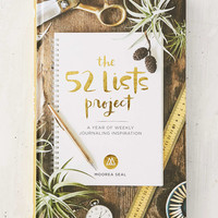The 52 Lists Project: A Year Of Weekly Journaling Inspiration By Moorea Seal - Urban Outfitters