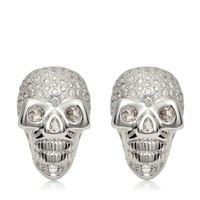 DIAMOND SKULL CUFFLINKS