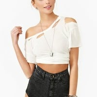 Dark Acid Denim Shorts - Black