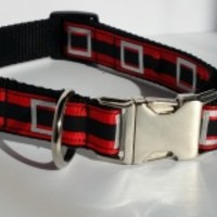 Santa Belt Dog Collar