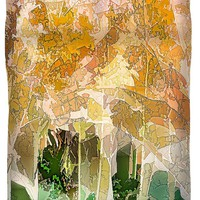 Autumn Woods Duvet Cover for Sale by Susan Eileen Evans