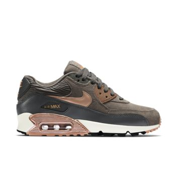 Nike Air Max 90 Leather Women s Shoe from Nike d8f8be7dd8