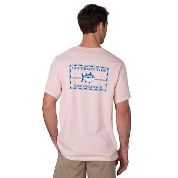 Original Skipjack Tee Shirt in Pink by Southern Tide