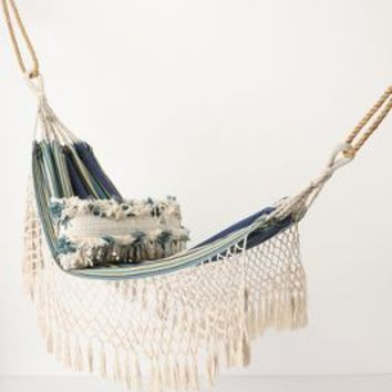 Tayrona Hammock by Anthropologie Blue Motif One Size House & Home