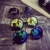 Vintage Laser Mirrored Ladies Sunglasses