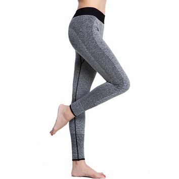 Women pants Leggings High Waist legins 2017 Autumn Winter Elastic Fashion Sexy fitnessGymRunning Pants Workout capris trousers