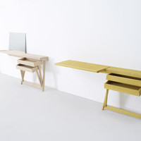 Pivot Desk and Vanity by Shay Alkalay for Arco | Design Milk
