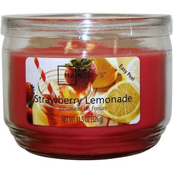 Mainstays 11.5 oz Candle, Strawberry Lemonade - Walmart.com
