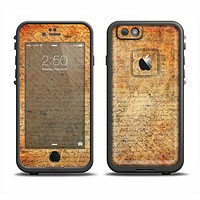 The History Word Overlay V2 Apple iPhone 6 LifeProof Fre Case Skin Set