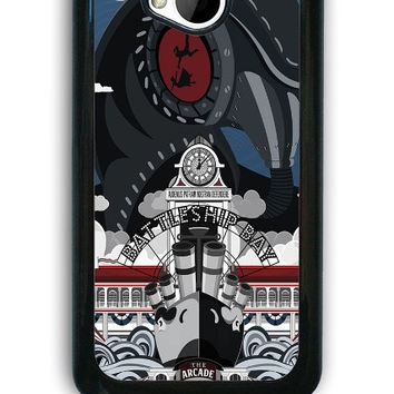 HTC One M7 Case - Hard (PC) Cover with Bioshock Infinite Poster Plastic case Design