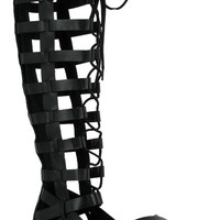 MIA Devi Lace-Up Gladiator Sandal