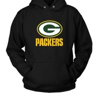 Green Bay Packers Team Logo Hoodie Two Sided
