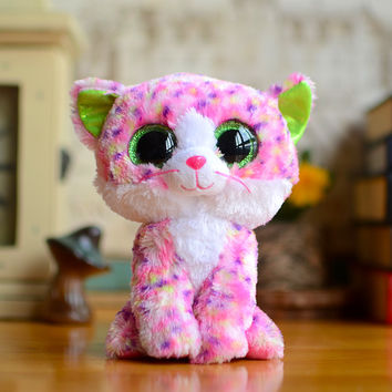 Original TY Collection Beanie Boos Plush Kids Toys Big Eyes Styles Soft Stuffed Sophie