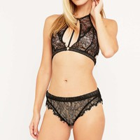Free People Victoria Cheeky Lace Knickers - Urban Outfitters