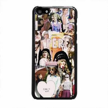 taylor swift collages perf iphone 5c 4 4s 5 5s 6 6s plus cases