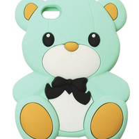 Rubber Teddy Bear Phone Case | Shop Accessories at Wet Seal