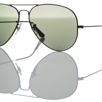 Ray-Ban Aviator Sunglasses - Authentic RB 3025 002/58 Black Dark Grey Lens 62mm