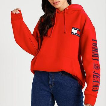Tommy Hilfiger Women Men Hot Hoodie Cute Sweater-7