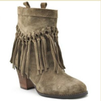 Sbicca Sound Booties- khaki