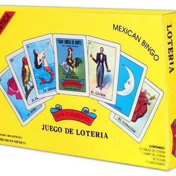 Autentica Loteria Gift Box Set by Don Clemente