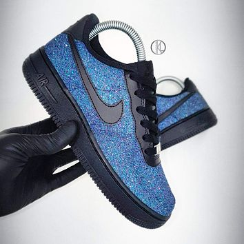 Mermaid V.2 Nike Air Force 1 (Glitter)