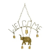 WELCOME ELEPHANT CHIME WITH FIVE BELLS - MIRA
