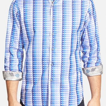 Men's Robert Graham 'Windsor Castle' Classic Fit Print Sport Shirt,