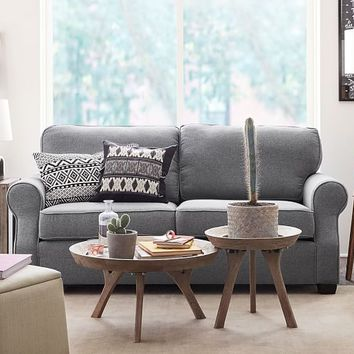 SoMa Fremont Roll Arm Upholstered Sofa
