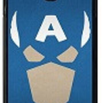 Captain America Face TPU Case For Samsung Galaxy S4