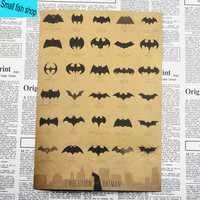 Batman 'Evolution of Batman Symbols' Poster