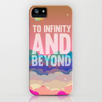 to infinity and beyond.. toy story.. buzz lightyear iPhone & iPod Case by studiomarshallarts