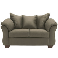 Darcy Loveseat in Sage Fabric