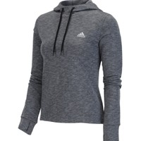 adidas Women's Boyfriend French Terry Pullover Hoodie