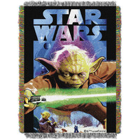Star Wars Powerful Ally  Woven Tapestry Throw (48inx60in)