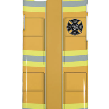 Firefighter Yellow AOP iPhone 6 Plus Plastic Case All Over Print