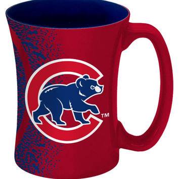 Chicago Cubs Coffee Mug - 14 oz Mocha