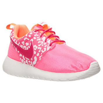Girls' Grade School Nike Roshe One Print Casual Shoes | Finish Line