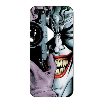 Joker Harley Quinn Batman Avengers iPhone 5/5S/SE Case