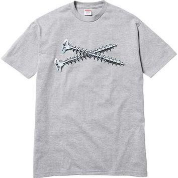 Supreme Screw Tee - Grey
