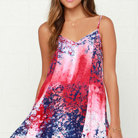 Somedays Lovin' The Call of Daybreak Print Dress
