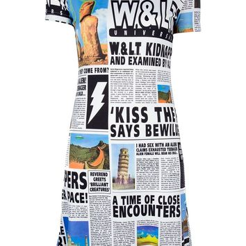 Walt By Walter Van Beirendonck Vintage Printed dress