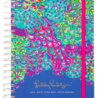 Lilly Pulitzer Large 17 Month Agenda- Lilly's Lagoon