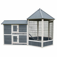 Advantek Solarium Poultry Hutch, 7 Bird Capacity - For Life Out Here