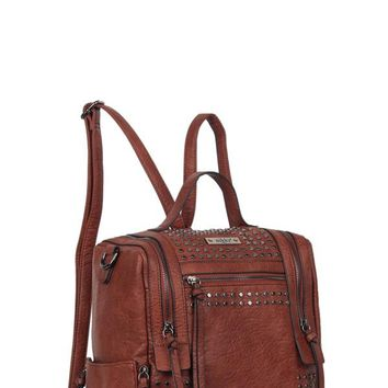 On A Date Backpack - Brown