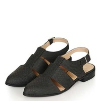 ODESSA Cut-Out Shoes - Shoes