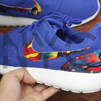 Nike Roshe Run Blue It's Superman Superhero Custom Men