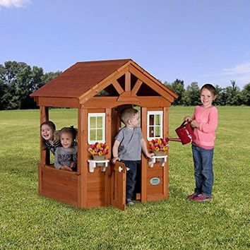 All Cedar Wood Playhouse Backyard Playhouse For Kids
