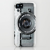 Vintage Camera Phone iPhone & iPod Case by Love2Snap