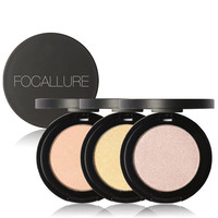 FOCALLURE Highlighter Makeup Imagic Brand Highlighter Powder Brighten Face Foundation Palette Highlighting Contour Professional