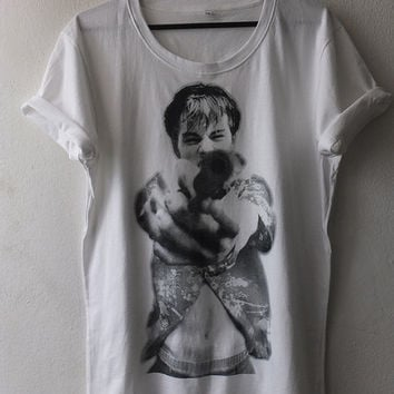 Leonardo Dicaprio Movie Pop Rock T Shirt M